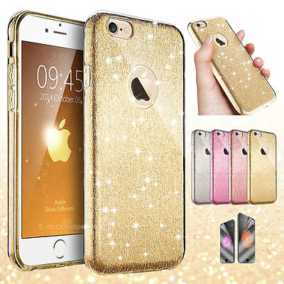 Luxury Bling Cute Hard Protective Case Cover for Apple iPhone SE 5 5s 6 6s Plus