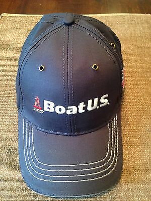Boat U.s. - Embroidered - Adjustable Ball Cap Hat