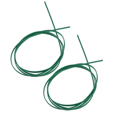 Guitar Binding Purfling Strip for Guitar Plastic Green 1650 * 6 * 1.5mm 2 Pcs