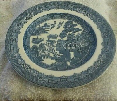 Johnson Brothers China England WILLOW Blue Bread & Butter Plate 6 1/8 inch