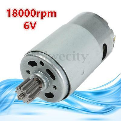 6V 18000 RPM Electric Motor Gear Box for Kids Ride On Bike/Car Toys Spare Parts