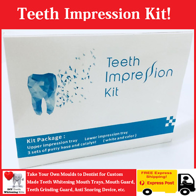 DIY Teeth Impression Kit. Take Your Moulds to Dentist for Custom made Mouth Tray