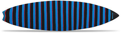 Dakine Knit Thruster Surf Bag - Black/Cyan/Red - 6ft 6in - New