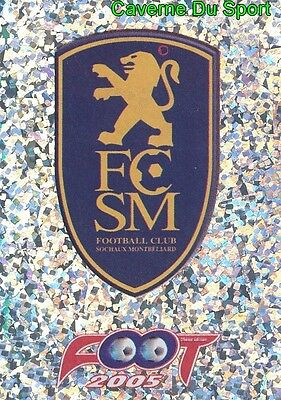 515 ECUSSON BADGE LOGO # FC.SOCHAUX STICKER PANINI FOOT 2016