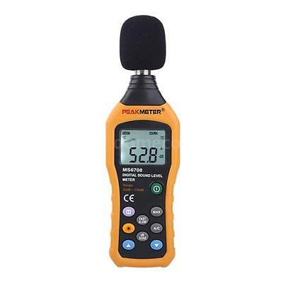 MS6708 Digital Sound Pressure Tester Level Meter Decibel Noise Measurement V0S0