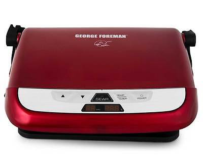 George Foreman Champ All In One Grill - Candy Apple Red
