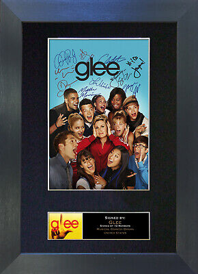 GLEE Signed Mounted Autograph Photo Prints A4 118