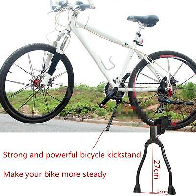Bicycle Bike Kickstand Foot Side Double Two Leg Stable Parking Kick Stand Mount