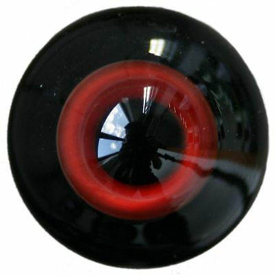 [wamami]10mm Red  Glass Eyes With Black Pupil For BJD AOD DOD Doll Outfit