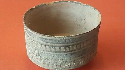 Ancient Indus Valley Harappan Culture Bowl With Interesting  Design.
