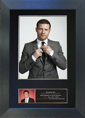 DERMOT O'LEARY Signed Mounted Autograph Photo Prints A4 404