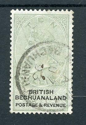 Bechuanaland 1888 10s green and black SG19 FU cat £400