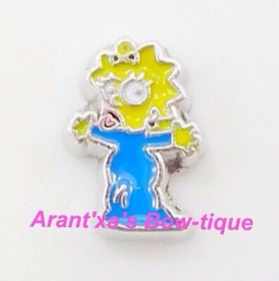 Maggie Simpson Character Floating Charm for Living Origami Memory Locket Jewelry