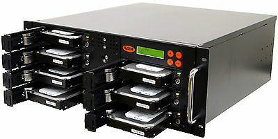 1-6 SATA Rackmount Disco Rigido (HDD/SSD) Copista Sanitizer Duplicatore Cloner