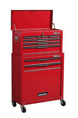 Hilka 8 Drawer Tool Storage Chest Box Cabinet Combination Set Trolley