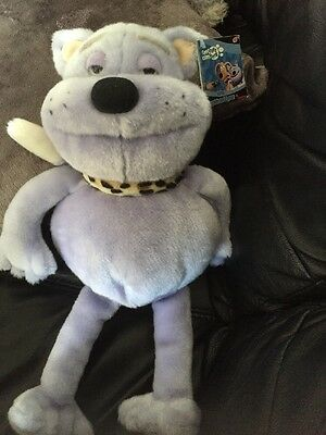 Nick Park Creature Comforts Captain Cuddlepuss 17 Inch Talking Soft Toy Tagged