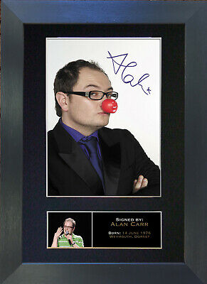 ALAN CARR Signed Mounted Autograph Photo Prints A4 180
