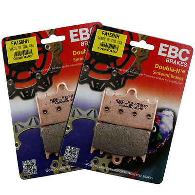 EBC FA158HH Sintered Full Front Brake Pad Set Suzuki GSX 650 F 08-13