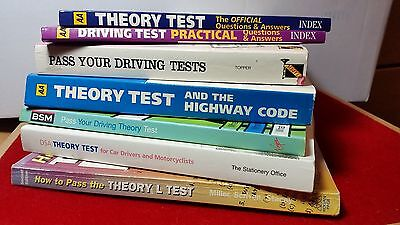 Selection Learning to Drive  Books -Theory & Driving Test Practical Highway Code