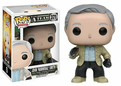 John Hannibal Smith A-Team Pop Television Vinyl Figure Funko New Vaulted