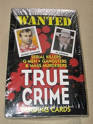 1992 Series 1 True Crime Trading Cards-Plastic Sealed Brand New Box