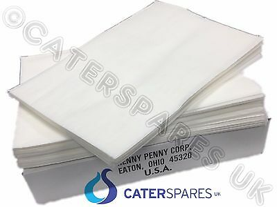 Genuine Henny Penny Oil Filter Paper Original Filter Sheets X 100 Parts 1 Box