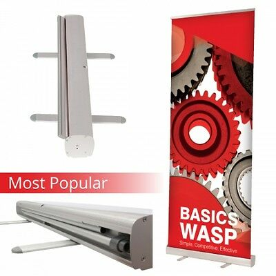 Roller Banner Pop/Roll/Pull up Exhibition Display Stand 800/850/1000  NO ARTWORK