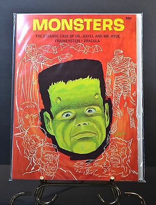1965 Monsters-The strange Case of Dr Jekyll & Mr Hyde, Frankenstein, Dracula