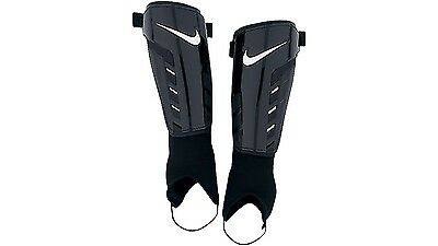 Nike Shield Shin Guard - Comfortable & Durable w/ Ankle Protection - Large