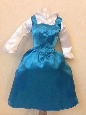 """Disney Blue Dress For 12"""" Belle Classic Doll Beauty And The Beast"""