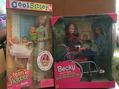 Barbie Cool Sitter & Barbie Becky