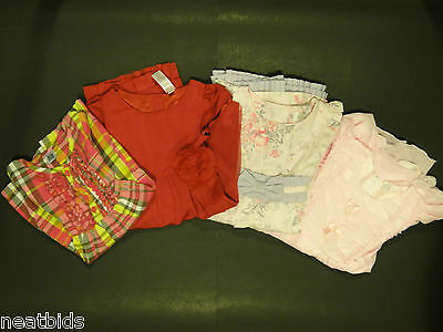 Lot of 4 Pre-owned GAP, Carter's, Mixed Brands Pretty Girls Dresses Size 3T