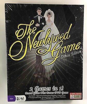 The Newlywed Game - Deluxe Edition Brand New Factory sealed