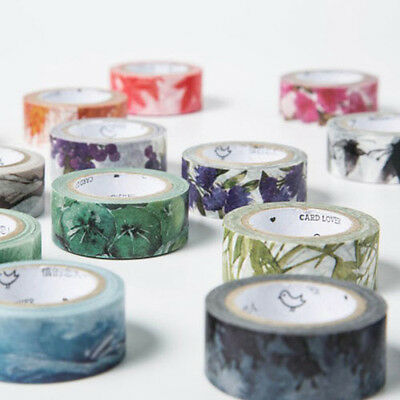 24 Styles 4 seasons Color Swatch Washi Tape Adhesive Tape DIY Masking Tape