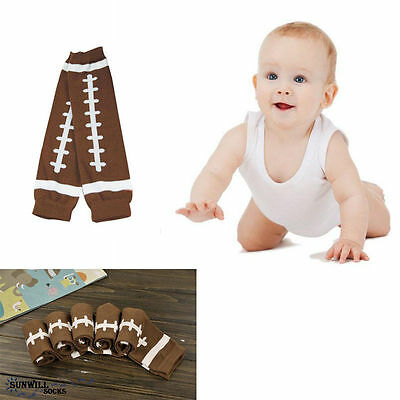 1Pair Football Baby Arm Leg Warmers Cotton Toddler Boys Girls Socks Legging Gift
