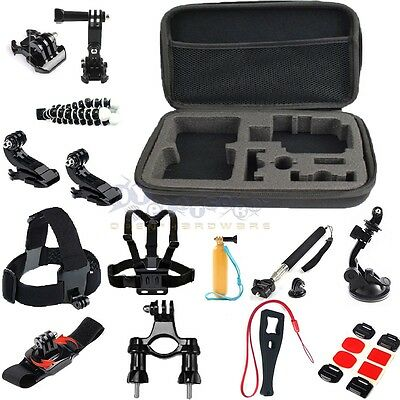 34in1 Camera Chest Mount outdoor For GoPro Hero 3+ 4 Camera Accessories Set Kit