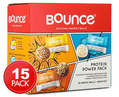 Bounce 15-Ball Protein Power Pack