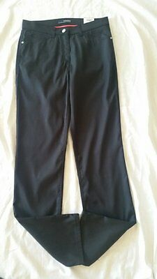 BRAX GOLF Pantalones Mujer cooltech seco and fit FAITH Talla 36 Negro NUEVO