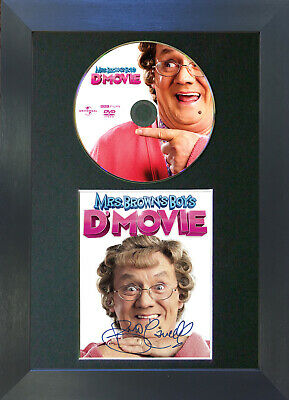 MRS BROWN BOYS D'Movie Signed DVD Mounted Autograph Photo Prints A4 61