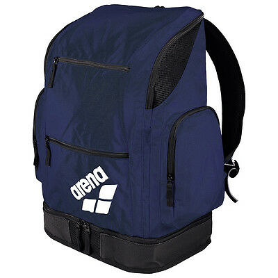 NEW Arena Spiky 2 Large Backpack Navy Team