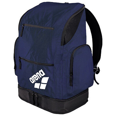NEW Arena Spiky 2 Large Swimmers Backpack Navy Team