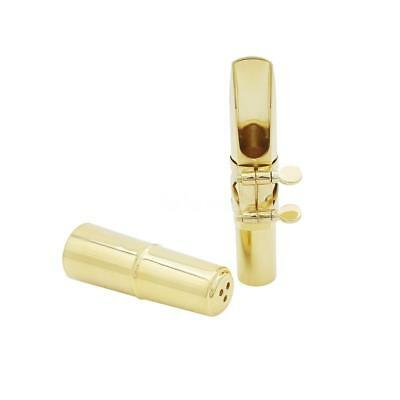 Tenor Sax Saxophone 5C Mouthpiece with Patches Pads Cap High-quality Brass O4Z2