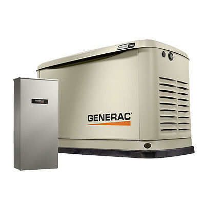 20/18KW Guardian Standby Generator w/ Automatic Transfer Switch Generac 7039 New