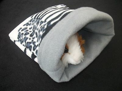 COZY PETS GUINEA PIG BED SNUGGLE POUCH SACK CUDDLE CUP SLEEPING BAG HEDGEHOG lg