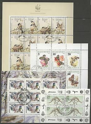 Tiere, Animals - 10 Bl. gestempelt used 1990