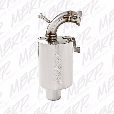 MBRP Stainless Steel Snowmobile Trail Silencer For 2011-2017 Ski-Doo 800 ETEC