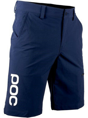 POC Trail Bike Shorts Boron Blue Size 32