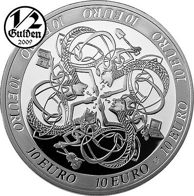 IRELAND 10 Euro 2007 Influence on European Celtic Culture Silver Proof Coin Eire
