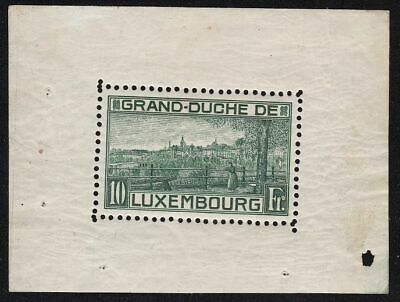 1923 LUSSEMBURGO/LUXEMBOURG - BF n° 1 MNH/** Certificato Cilio