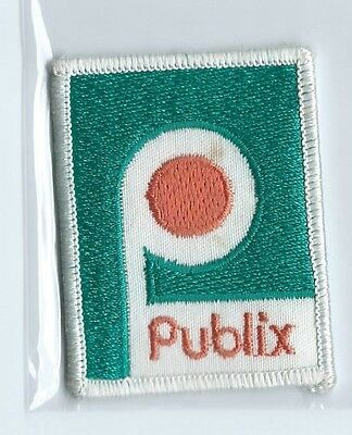 Publix employee/driver patch 2-5/8 X 2 (Publix Supermarkets) #682